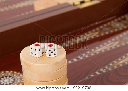 Backgammon And Double One