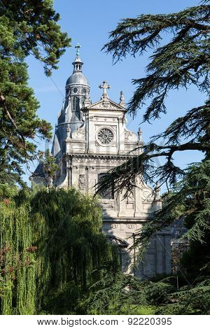 The Church of Saint Vincent in Blois