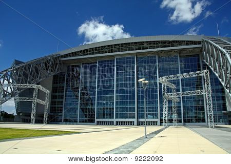 Entrance to Cowboy Stadium
