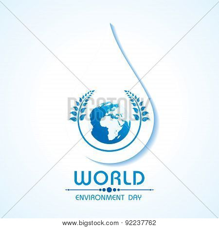 Creative World Environment Day Greeting stock vector