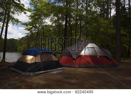 Dusk Campsite