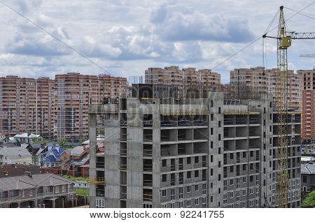 Construction Of A New Residential Area