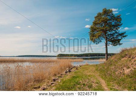 on Lake Seliger
