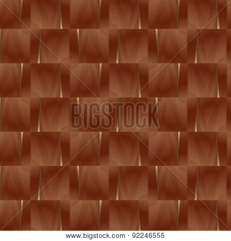 Various wooden tile flooring mosaic background