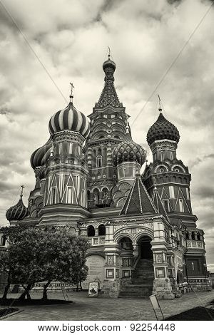 most famous Russian Cathedral on the Red Square