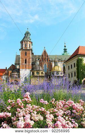 Wawel Castle Complex In Krakow