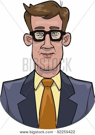 Bust Businessman