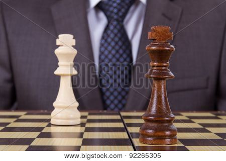 Chess Game Gets Drawn