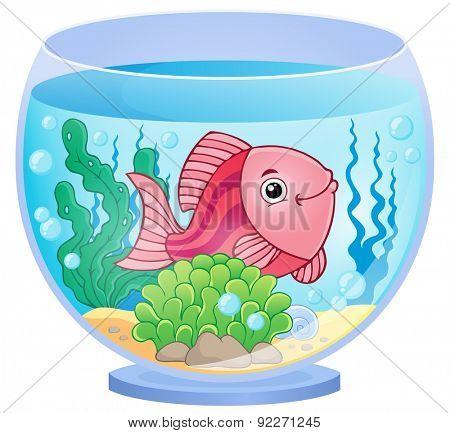 Aquarium theme image 9 - eps10 vector illustration.