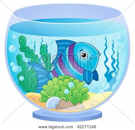 Aquarium theme image 8 - eps10 vector illustration.