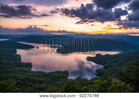 Lake Jocassee Sunset