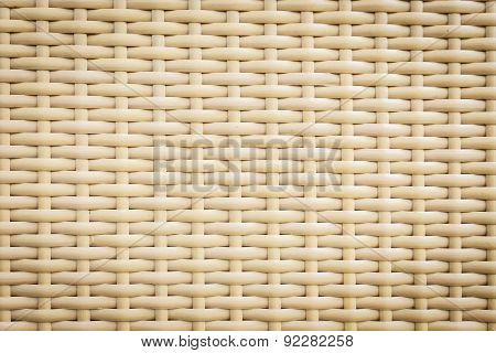 Plastic Rattan Weaving Texture For Background Use