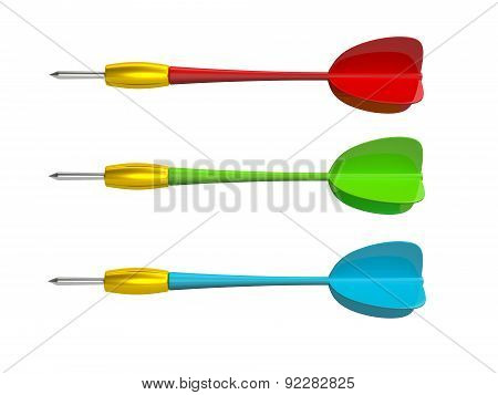 Colorful Dart Arrows