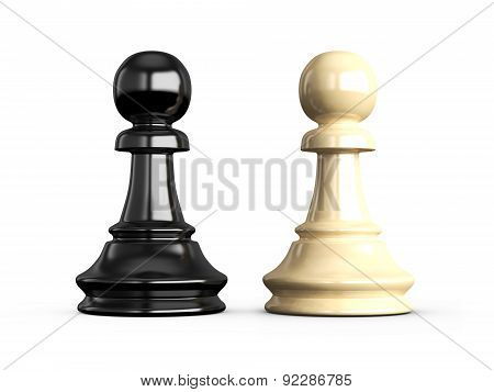 Confrontation Of Pawns