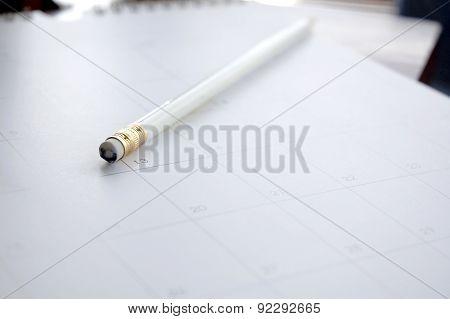 Close Up Pencil Eraser