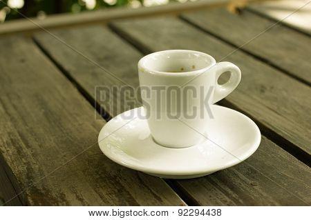 Hot Espresso Coffee.