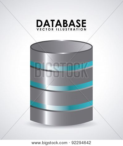 computer design over gray background vector illustration