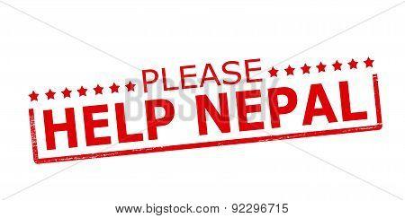 Please help Nepal