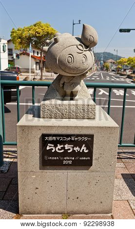 Rato-chan Statue In Oda, Japan