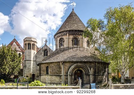 The Round Church of Holy Sepulchre, Cambridge