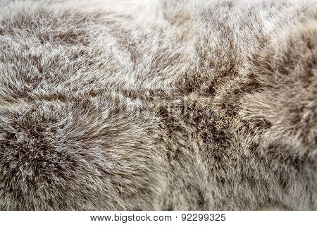 Texture Of Puffy Fabric