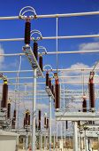 pic of substation  - High voltage switch - JPG