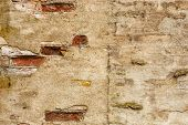 image of concrete  - Brick wall background - JPG
