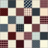 picture of quilt  - Quilting design in chess order - JPG