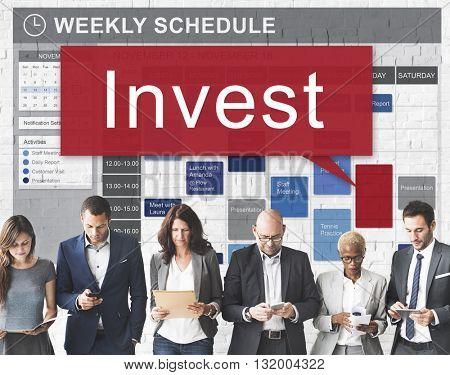 Invest Assets Banking Economy Financial Profit Concept