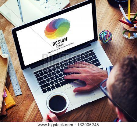 Design Color Wheel Interface Concept