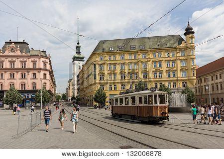 The Liberty Square, The Centre Of Brno