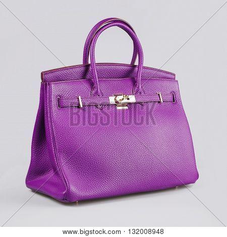 Purple Lady's Bag