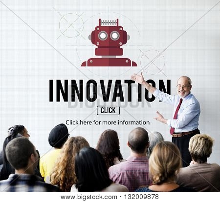 Innovation Creative Design Ideas Imagination Concept