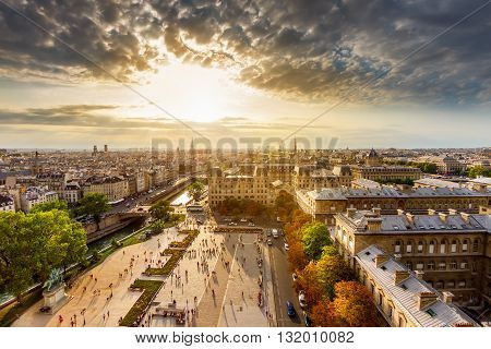 Paris City.