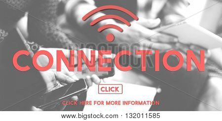 Connection Wireless Internet Networking Online Concept