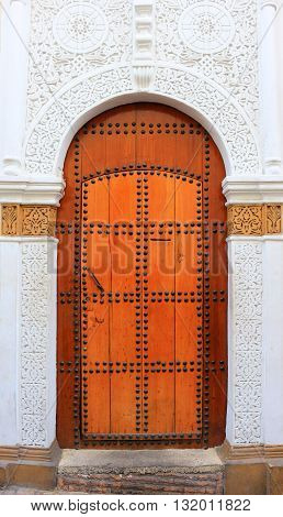 Decorative Door In Morocco