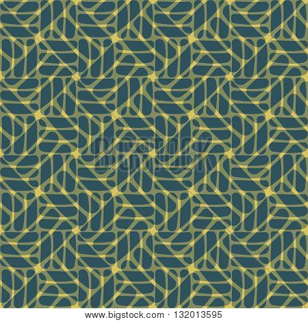 Seamless abstract pattern in geometric style - EPS10