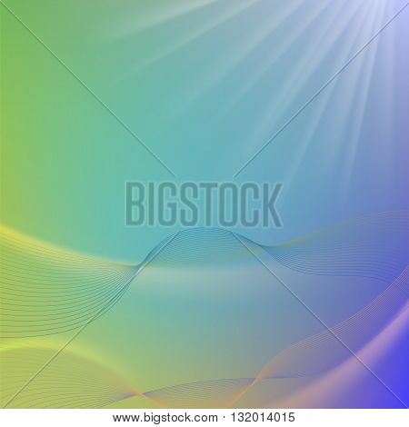 Abstract Colorful Blurred Background. Abstract  Blurred Pattern