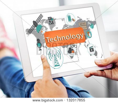 Technology Digital Evolution Innovation Concept