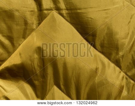 Abstract Yellow Cloth Texture.