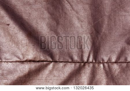 Abstract Red Waterproof Textile Texture.