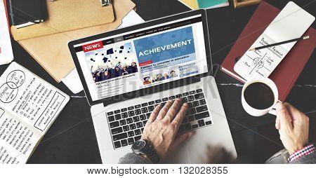 Achievement Attainment Success Victory Concept
