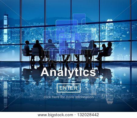 Analytics Data Analysis Information Internet Concept