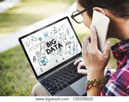 Big Data Technology Server Storage System Concept