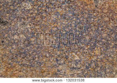 texture of rusty iron sheet for background