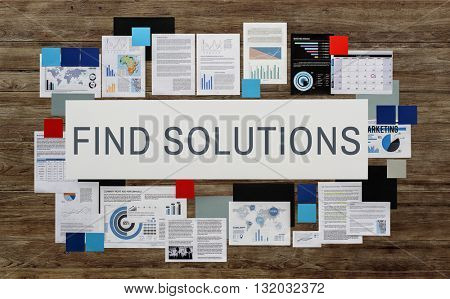 Find Solutions Decision Solving Strategy Result Concept