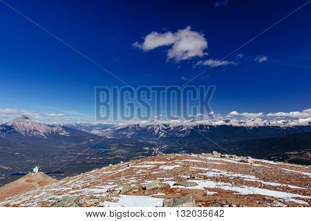 Whistlers Mountain, Jasper National Park