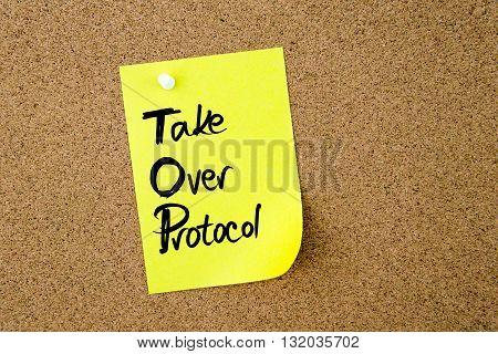 Business Acronym Top Take Over Protocol