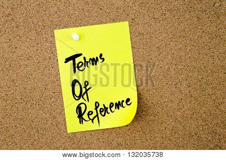 Business Acronym Tor As Terms Of Reference