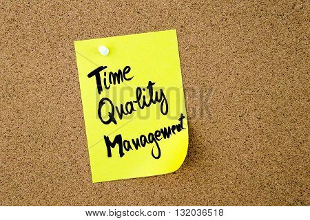 Business Acronym Tqm As Time Quality Management